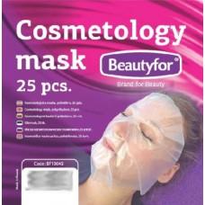 Beautyfor Maska jednorázová na obličej PE folie 25 ks