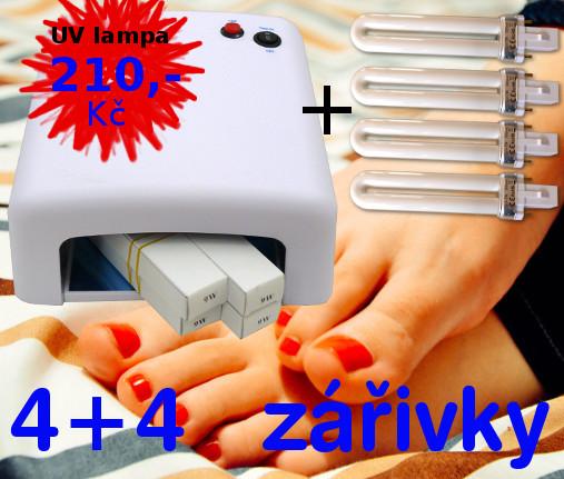 UV lampa 36W 4+4