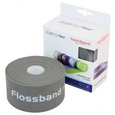 Kompresní guma Flossband by Sanctband extra dlouhá 5 cm x 3,5 m mocca super silná
