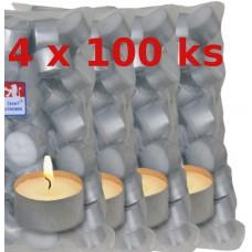 KRAB Svíčka čajová 8 hodin 400 ks