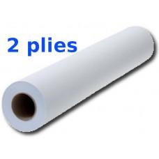 Amala Prostěradlo papírové 2 vrstvé bílé 500/50m/40 s perforací 1 ks