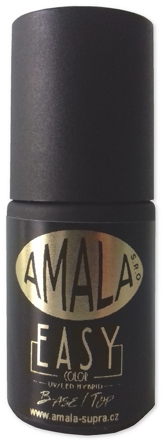 Amala UV/LED Easy Base Top gel lak Clear 5 ml