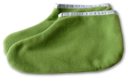Nohavice na parafín zelené 1 pár